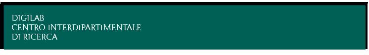 DigiLab centro interdipartimentale di ricerca e servizi
